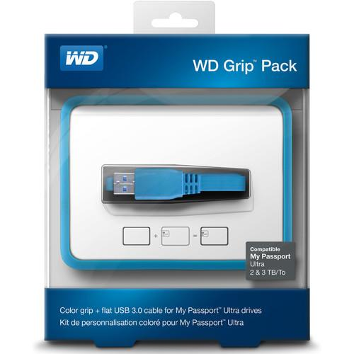 WD Grip Pack for 2TB & 3TB My Passport WDBFMT0000NBL-NASN