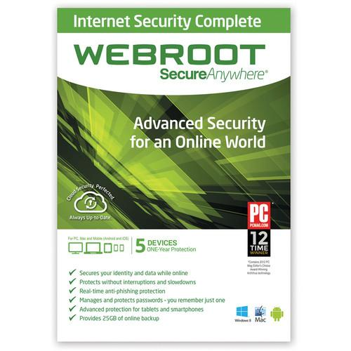 Webroot SecureAnywhere Internet Security Complete 667208493074