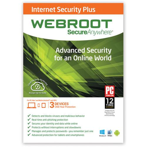 Webroot SecureAnywhere Internet Security Plus 667208492060