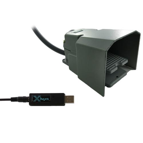X-keys USB 3 Switch Interface with Full-Guarded XK-1310-IFSG-BU