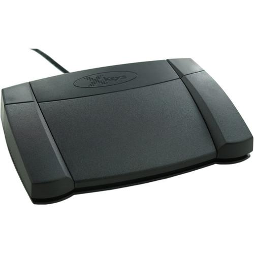 X-keys USB Mouse Click Foot Pedal XK-1223-UDP3-P01