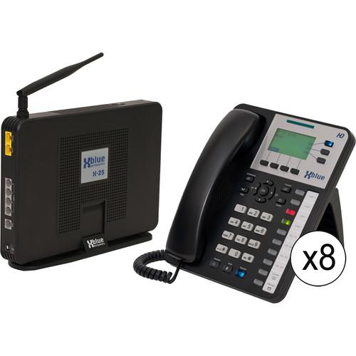 XBLUE Networks X-25 System Bundle with Nine X3030 VoIP V2509