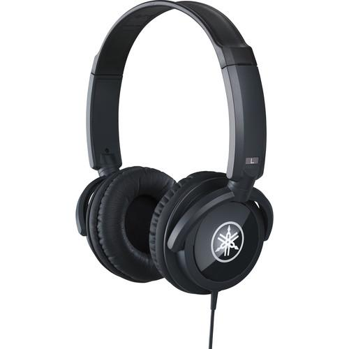 Yamaha HPH-100B Closed Stereo Headphones (Black) HPH-100B