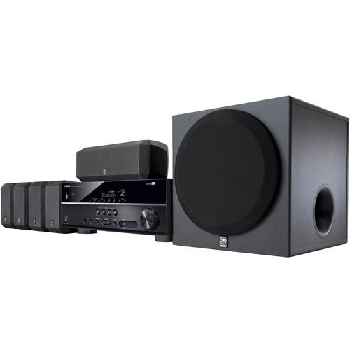 Yamaha YHT-3920UBL 5.1-Channel Home Theater in a Box YHT-3920UBL