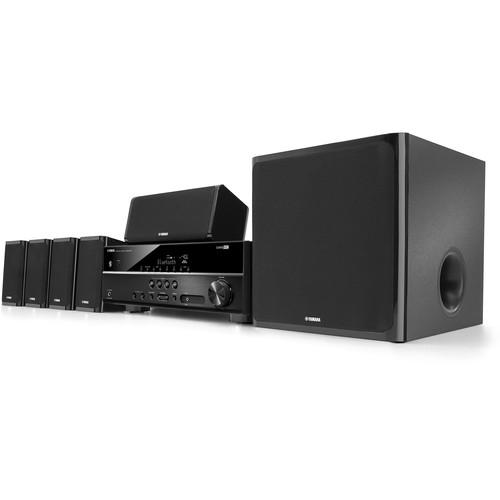 Yamaha YHT-4920UBL 5.1-Channel Home Theater in a Box YHT-4920UBL