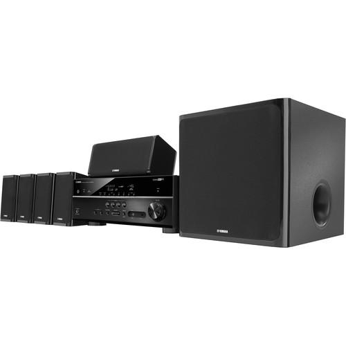 Yamaha YHT-5920UBL 5.1-Channel Home Theater in a Box YHT-5920UBL