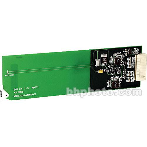 AJA RD20DA Dual-Channel SDI Distribution Amplifier RD20DA