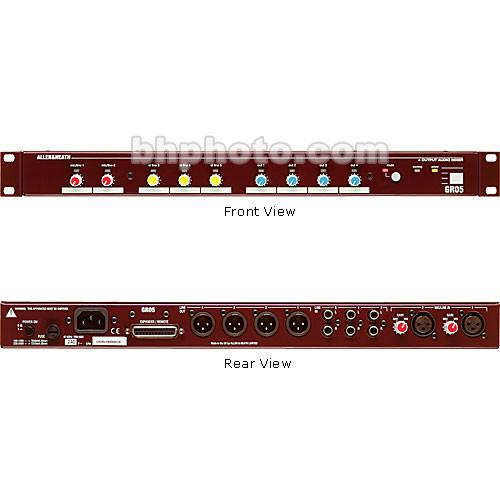 Allen & Heath GR05 - 5-In, 4-Out Rack-Mount Analog Zone AH-GR05