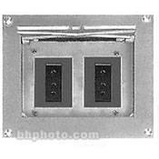 Altman Flush Wall Box - 2- 20 Amp, Stage-Pin FW-702-2-GPC, Altman, Flush, Wall, Box, 2-, 20, Amp, Stage-Pin, FW-702-2-GPC,