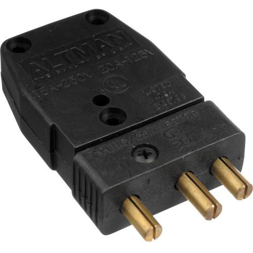 Altman Male Stage Pin Connector - 20 Amps 52-138GM