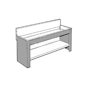 Arkay Steel Stand and Shelf Set for 30x84