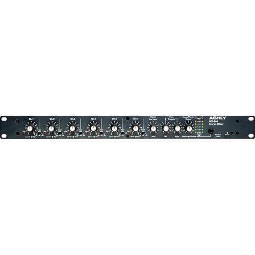 Ashly  MX206 Stereo Microphone Mixer MX-206
