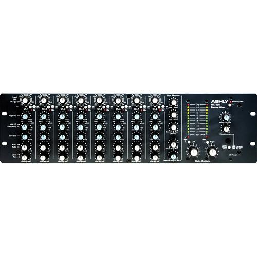 Ashly  MX508 Stereo Microphone Mixer MX-508