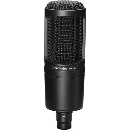 Audio-Technica AT2020 - Cardioid Condenser Microphone AT2020
