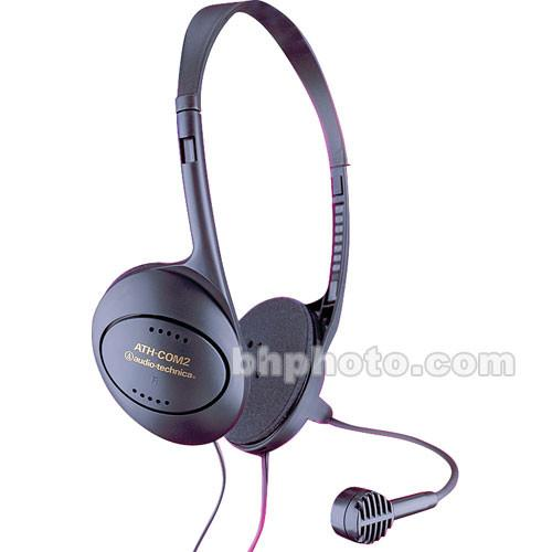 Audio-Technica ATH-COM2 - Stereo Headset with Dynamic ATH-COM2