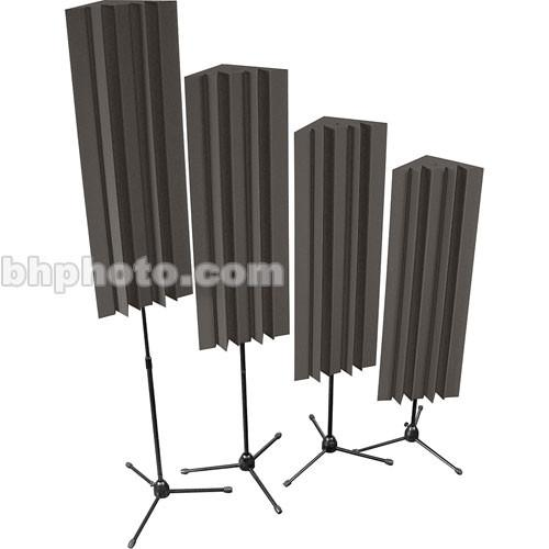 Auralex Stand-Mounted LENRD (Charcoal Grey) - 4 Pieces S-MLENCHA
