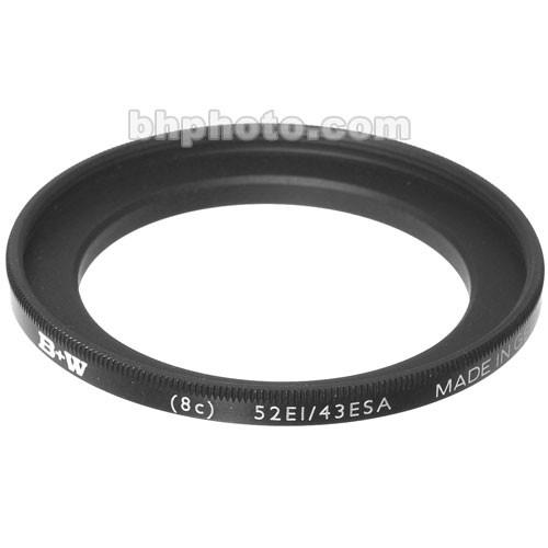 B W  43-52mm Step-Up Ring 65-069483