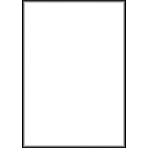 Backdrop Alley BAM12WHT Solid Muslin Background BAM12WHT
