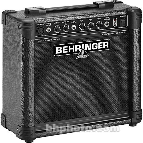 Behringer AT108 Ultracoustic 15-Watt, 2-Channel Amplifier AT108