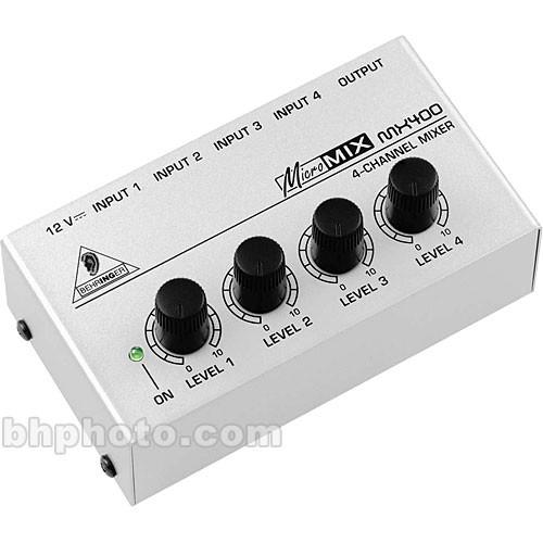 Behringer micromix mx400 manuals.