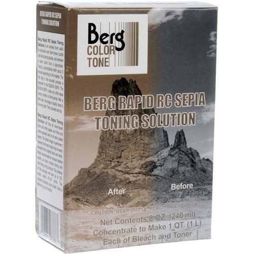 Berg Toner for Black & White Prints - Rapid RC Sepia RCSTS32