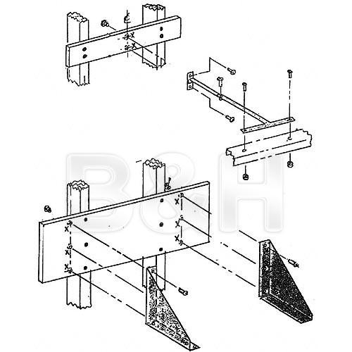 Beseler  Wall/Table Mount for 45MXT Chassis 8239
