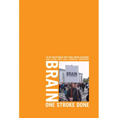 Big Fish Audio Sample CD: Brain - One Stroke Done BOSD1-W