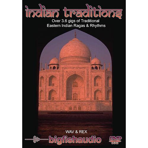 Big Fish Audio Sample CD: Indian Traditions INTR1-RW