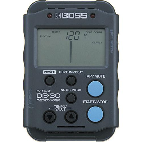 BOSS DB-30 - Dr. Beat Metronome with Rhythm Patterns DB-30