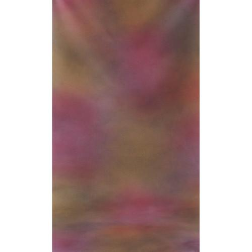 Botero #002 Muslin Background (10x24', Maroon, Orange) M0021024