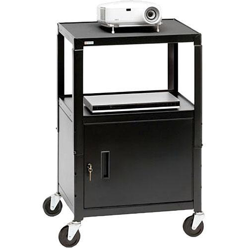 Bretford Adjustable Cabinet Cart with 4
