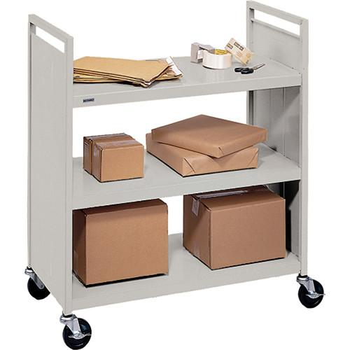 Bretford Mobile Flat Shelf Book & Utility Truck F336-GM
