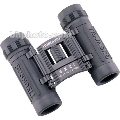 Bushnell  8x21 Powerview Binocular (Black) 132514