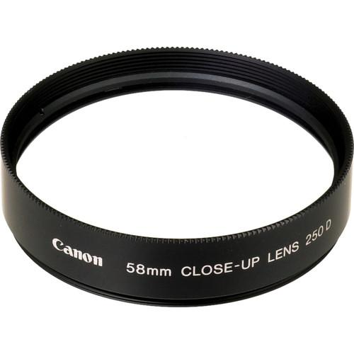 Canon  58mm 250D Close-up Lens 2820A001