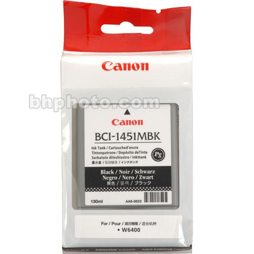 Canon BCI-1451MBK Matte Black Ink Tank (130ml) 0175B001AA