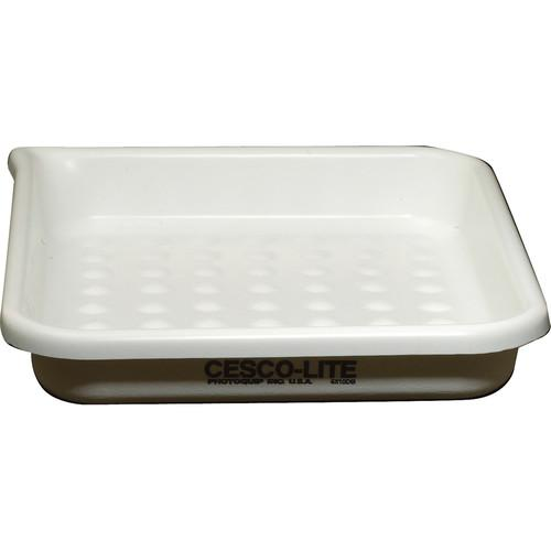 Cescolite Dimple Bottom Plastic Developing Tray - CLDB810