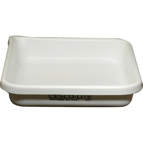 Cescolite Heavy-Weight Plastic Developing Tray (White) - CL810T