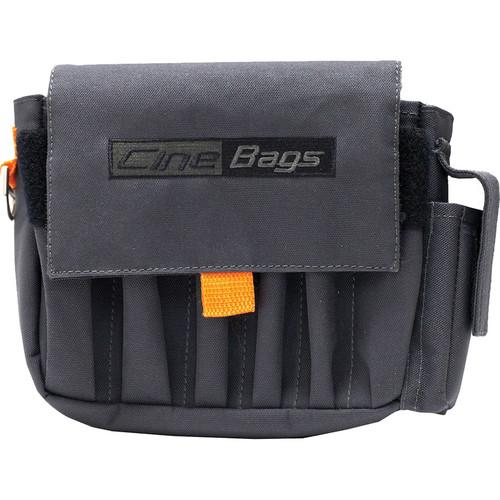 CineBags CB-03 AC Pouch (Gray with Orange Webbing) CB-03