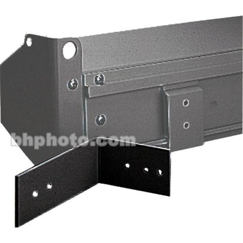 Da-Lite Black Floating Mounting Bracket (Pair) 77028