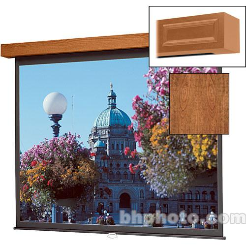 Da-Lite Designer Manual Hamilton Screen (Cherry) - 60 x 96069C