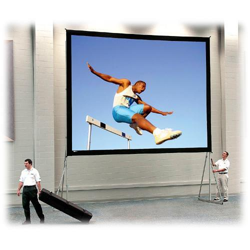 Da-Lite Heavy Duty Fast-Fold Deluxe Projection Screen 92087K