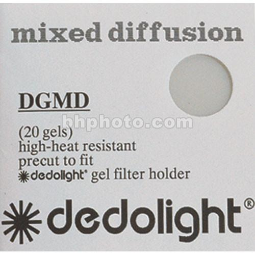 Dedolight Diffusion Gel Filter Set for DFH400 Filter DGMD400