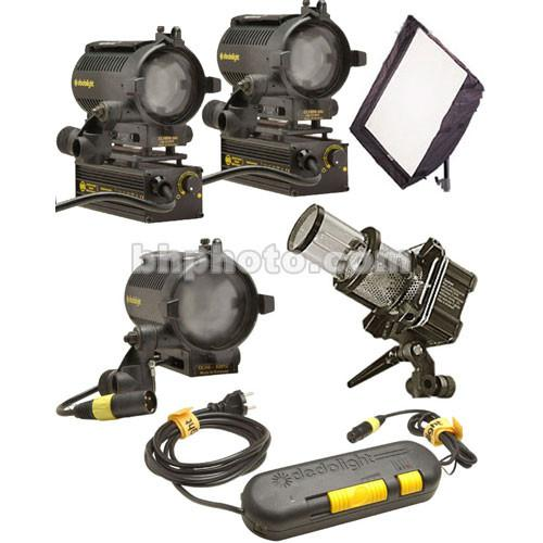 Dedolight Standard Traveler 4 Light Kit (230VAC/12VDC) S2-S-E