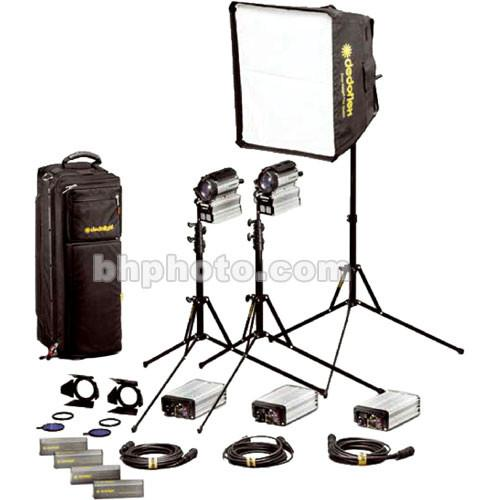 Dedolight Sundance HMI 3 Light Soft Case Kit (90-260V) S200-3