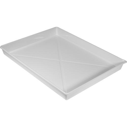 Doran Plastic Ribbed Developing Tray - 16x20