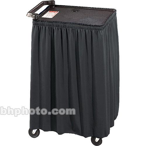 Draper Skirt for Mobile AV Carts/Tables - 38 x C168.199
