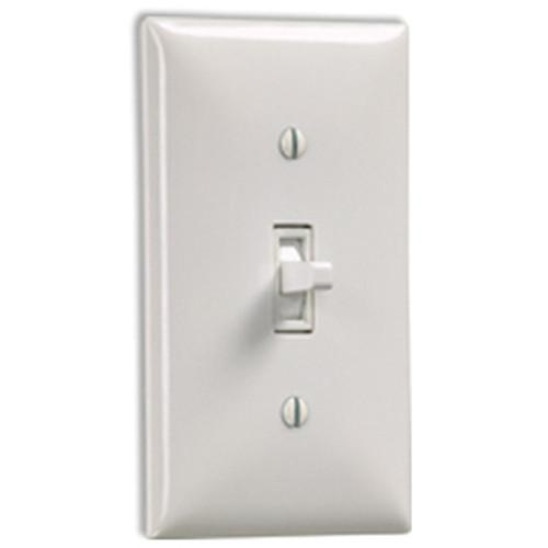 Draper SS-1R Single Station Wall Switch - White 121102
