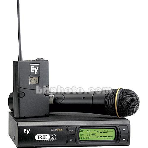 Electro-Voice RE-2 UHF Wireless Combo Microphone F.01U.139.539