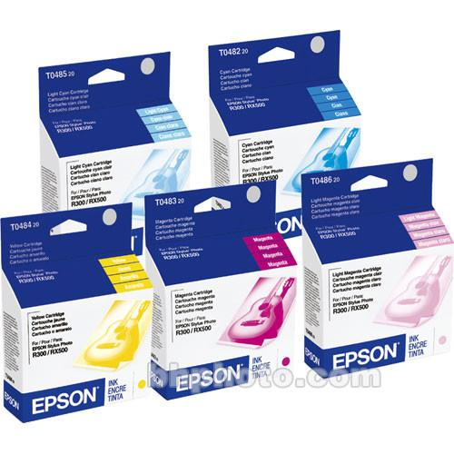 Epson T048920 Multi-Pack Color Ink Cartridges T048920