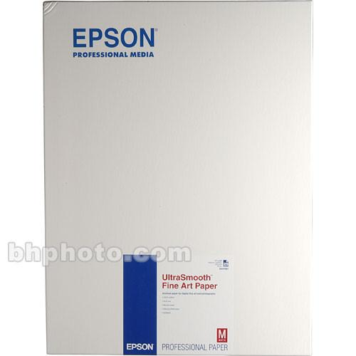 Epson Ultra-Smooth Fine Art Paper - 17x22